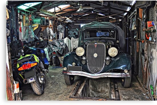 A Man's Shed! by JaninesWorld