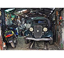 A Man's Shed! Photographic Print