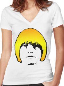 Brian Jones T-Shirt Women's Fitted V-Neck T-Shirt