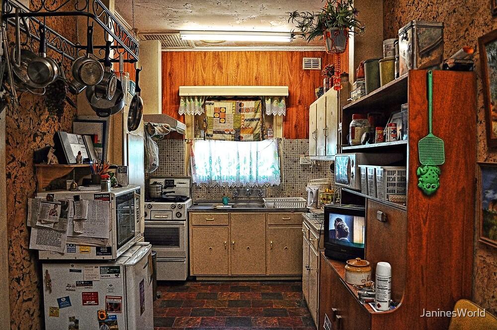 Modern Day 1955 Kitchen by JaninesWorld