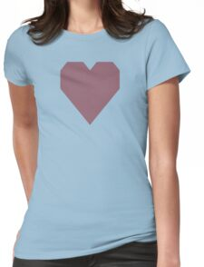 Mauve Taupe  Womens Fitted T-Shirt