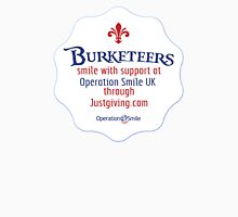 Burketeers support Operation Smile UK!! Unisex T-Shirt