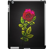 Embossed Rose iPad Case/Skin