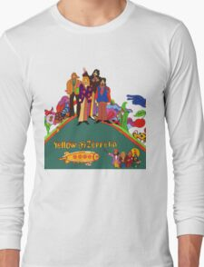 Yellow Zeppelin Submarine T-Shirt Long Sleeve T-Shirt