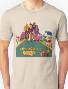 Yellow Zeppelin Submarine T-Shirt T-Shirt