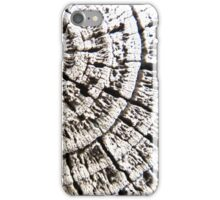 Wood rings iPhone Case/Skin