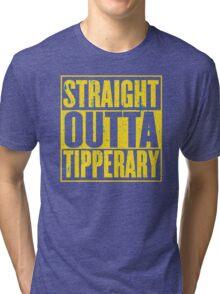 Straight Outta Tipperary Tri-blend T-Shirt