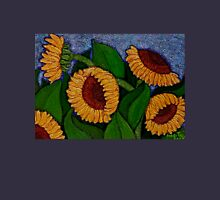 There are always Sunflowers in my life... Womens Fitted T-Shirt