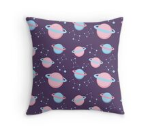 Planets and Constellations Throw Pillow