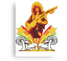 Jimmy Page Led Zeppelin T-Shirt Canvas Print