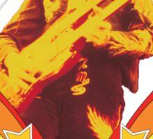 Jimmy Page Led Zeppelin T-Shirt Sticker