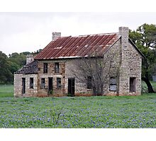 Old Stone House Photographic Print