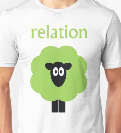 Relation (Shaun The) Sheep Unisex T-Shirt