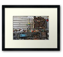 50 Years Of Work! Framed Print