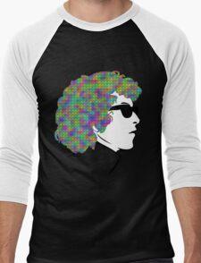 Psychedelic Bob Dylan T-Shirt Men's Baseball ¾ T-Shirt
