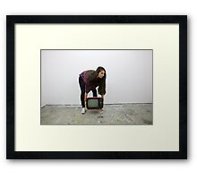 Weight of the Media Framed Print