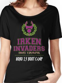 Irken Invaders: Hobo 13 Boot Camp Women's Relaxed Fit T-Shirt