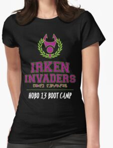 Irken Invaders: Hobo 13 Boot Camp Womens Fitted T-Shirt