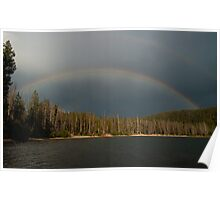 Stanley Lake Rainbow Poster