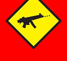 Beware Digital GAMER crossing design by jazzydevil