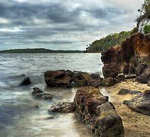 """Coalmine Beach -Walpole W.A"" by Heather Thorning"