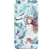 Pokemon - Jasmine - Steelix (no text) iPhone Case/Skin