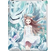 Pokemon - Jasmine - Steelix (no text) iPad Case/Skin