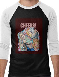 CHEERS, 2011 Men's Baseball ¾ T-Shirt