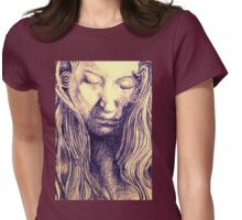 Angel Blue Womens Fitted T-Shirt