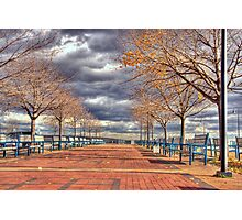 Canarsie pier park-Brooklyn NY Photographic Print