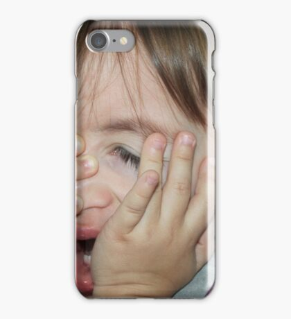 I don't want you to take my picture!!! iPhone Case/Skin
