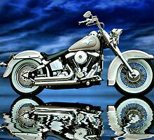 Heritage Softail by Steven  Agius