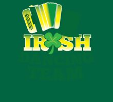 Irish Dancing Team with top hat and accordion Unisex T-Shirt