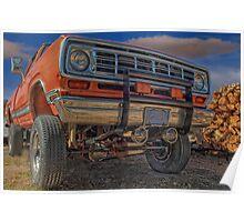 Power Wagon Poster