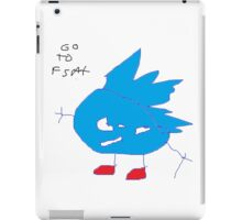 go to fast iPad Case/Skin