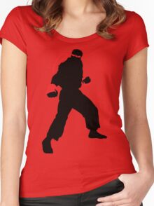 Ryu Silhouette Women's Fitted Scoop T-Shirt