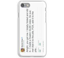 Darren Criss Glee Audition iPhone Case/Skin