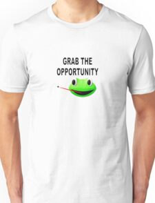 Grab The Opportunity Frog Unisex T-Shirt
