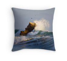 Birds of Storm2 Throw Pillow