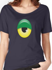 Big Green and yellow EYE Women's Relaxed Fit T-Shirt
