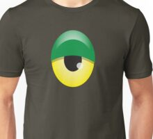 Big Green and yellow EYE Unisex T-Shirt