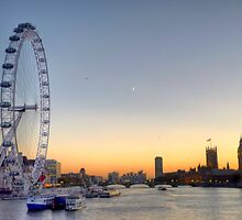 Thames Sunset by acolleau