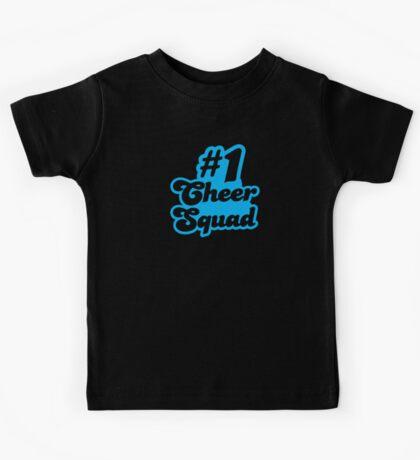 #1 CHEER SQUAD!  Kids Tee