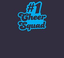 #1 CHEER SQUAD!  Womens Fitted T-Shirt