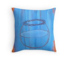 Escapee Throw Pillow