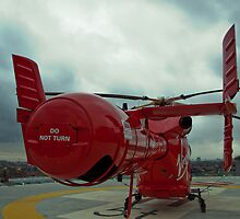 London Air Ambulance by Dawn OConnor