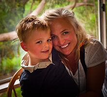 Mother and Son by Keith Irving