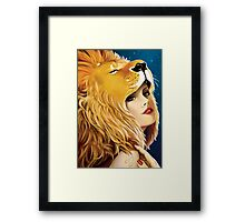 The Zodiac: Leo Framed Print