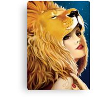 The Zodiac: Leo Canvas Print