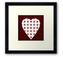 Christmas Heart - PRINT Framed Print